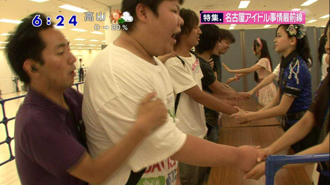 crazy wota handshakes! キモヲタと握手
