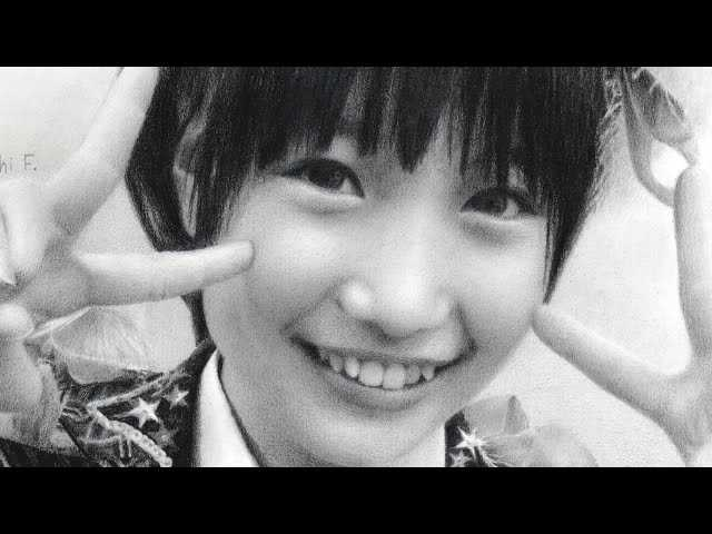 tomonaga mio pencil drawing