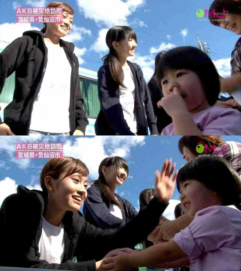 maeda atsuko's booger handshake
